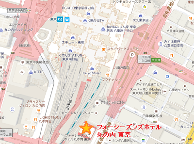 フォーシーズンズホテル丸の内東京地図